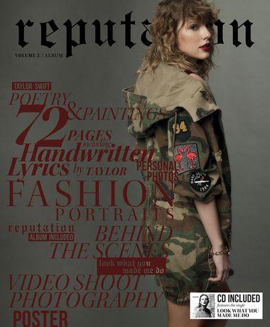 0eb8fc99a85e taylor swift reputation cd walmart canada exclusive magazine .