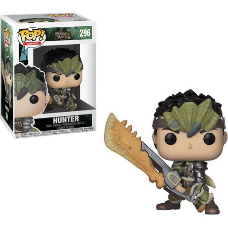 Figurine en vinyle Hunter de Monster Hunters par Funko POP! - image 1 de 1