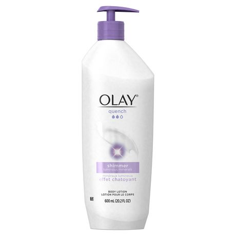 Olay Quench Shimmer Body Lotion - image 1 of 7