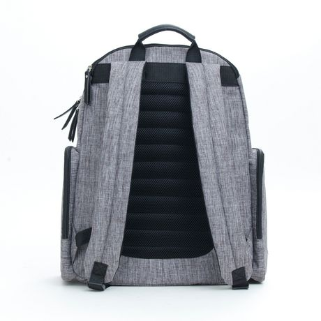 Baby Boom Places and Spaces Backpack Diaper Bag - Grey - image 3 of 8