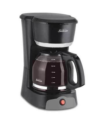 sunbeam 12 cup black switch coffee maker walmart canada. Black Bedroom Furniture Sets. Home Design Ideas
