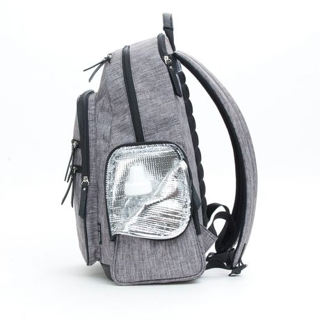 Baby Boom Places and Spaces Backpack Diaper Bag - Grey - image 4 of 8
