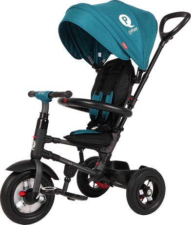 Tricycle Pliable QPlay Rito Plus - Sarcelle - image 1 de 8