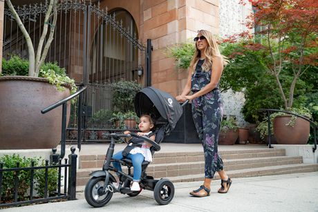 Tricycle Pliable QPlay Rito Plus - Sarcelle - image 4 de 8