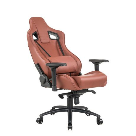 Xfx Izz 10 Faux Leather Gaming Chair Rustic Walmart Canada