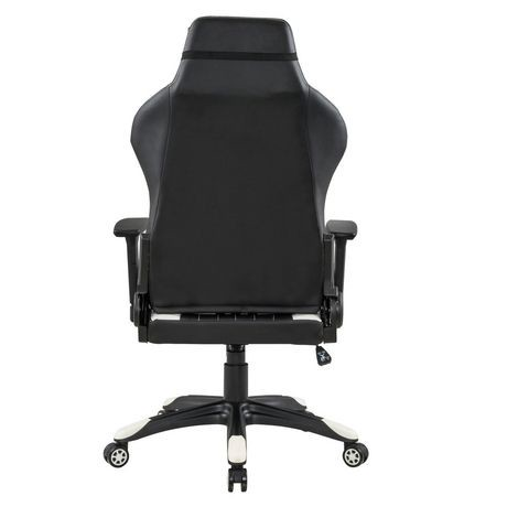 Xfx Gtr 500 Faux Leather Gaming Chair White Walmart Canada