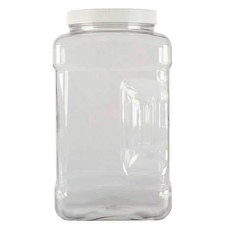 Rubbermaid Square Food Storage Jar, 3.8 Litre, White - image 2 of 5