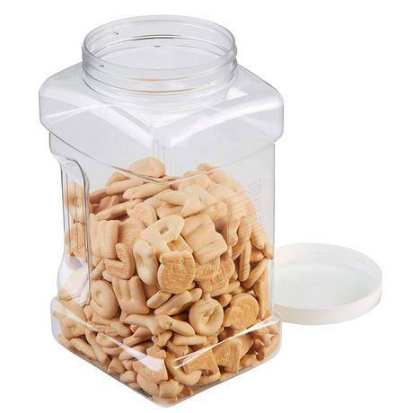 Rubbermaid Square Food Storage Jar, 3.8 Litre, White - image 5 of 5