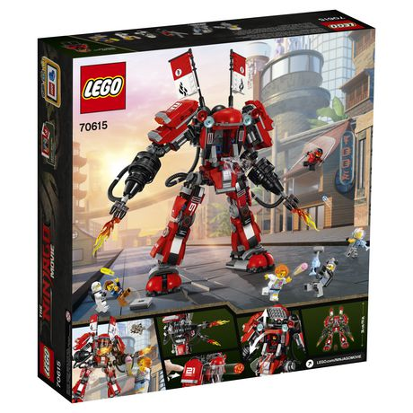 LEGO Ninjago - Le robot de feu (70615) - image 3 de 6