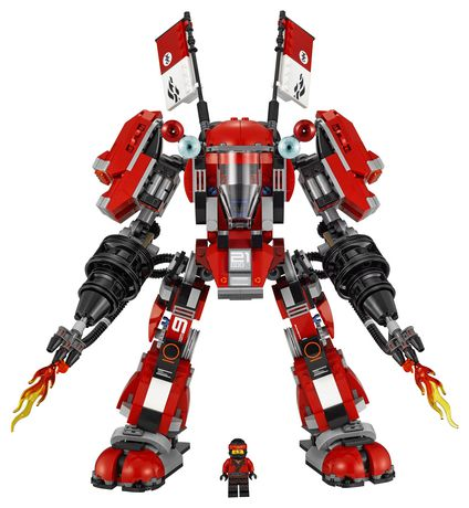 LEGO Ninjago - Le robot de feu (70615) - image 5 de 6