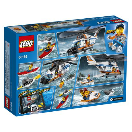 LEGO City Coast Guard - Heavy-duty Rescue Helicopter (60166) - image 2 of 5