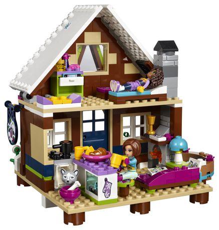 Lego Friends De Chalet Ski41323 La Le Station Rq354LcASj