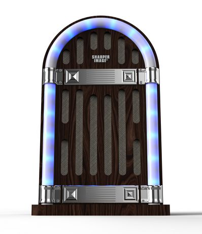 Sharper Image Sbt3019 Table Top Jukebox Bluetooth Speaker Walmart