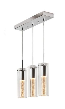 Artika Pendulum 3 Suspended Bubble Light Fixture