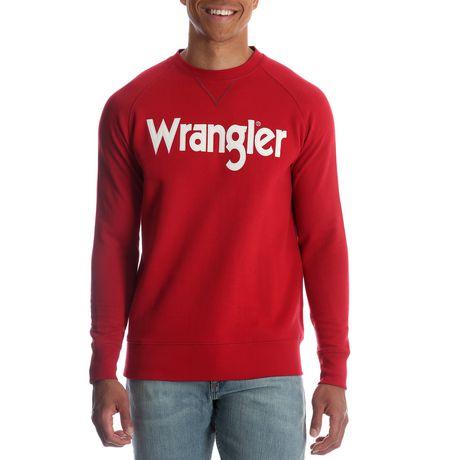 Wrangler Men's Logo Crew Sweatshirt - image 1 of 2
