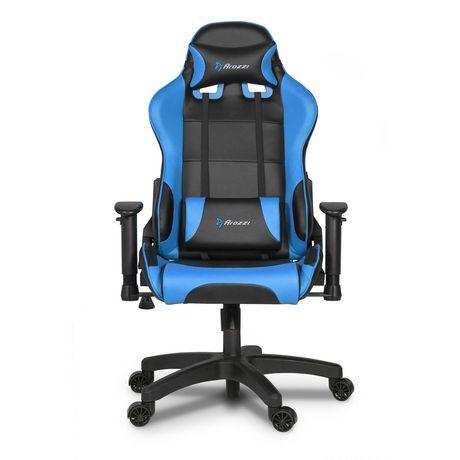 Terrific Arozzi Verona Junior Faux Leather Gaming Chair Blue Alphanode Cool Chair Designs And Ideas Alphanodeonline