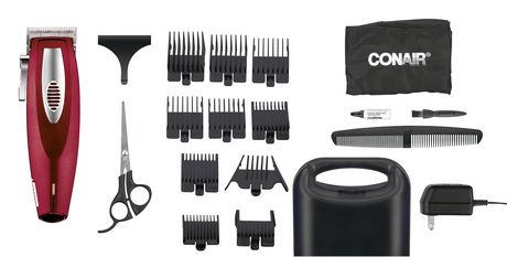 The Barber Shop PRO Series by Conair 19 Pc Lithium Ion Haircut Grooming Kit - image 2 of 5