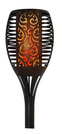 Sharper Image Solar Flame Torch Garden Light - image 1 of 4