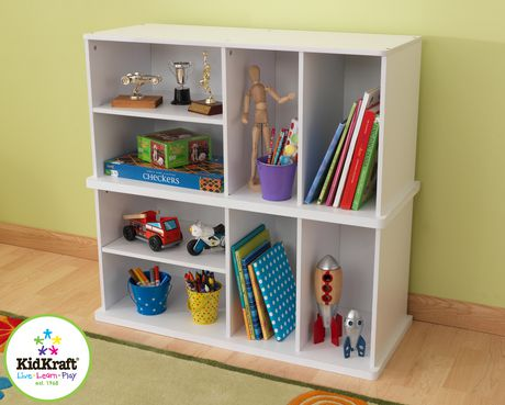 Kidkraft White Add On Storage Unit