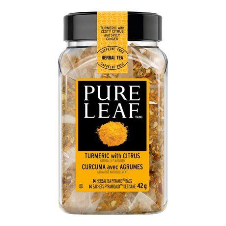 Pure Leaf Herbal Turmeric with Citrus Tea 14 PC - image 2 of 7