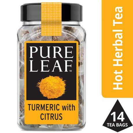 Pure Leaf Herbal Turmeric with Citrus Tea 14 PC - image 1 of 7