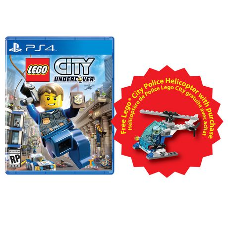 jeu vid o lego city undercover pour ps4. Black Bedroom Furniture Sets. Home Design Ideas