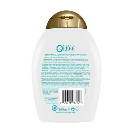 OGX Quenching + Coconut Curls Shampoo - image 2 of 5
