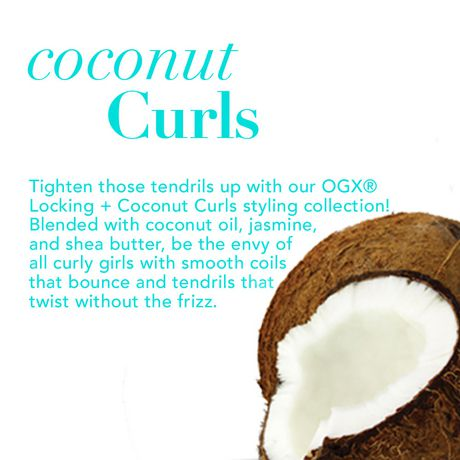 OGX Quenching + Coconut Curls Shampoo - image 3 of 5