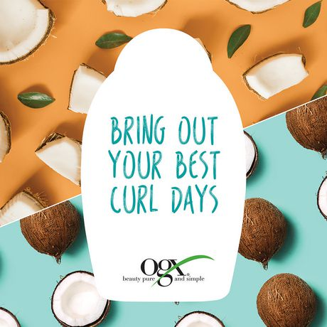 OGX Quenching + Coconut Curls Shampoo - image 4 of 5