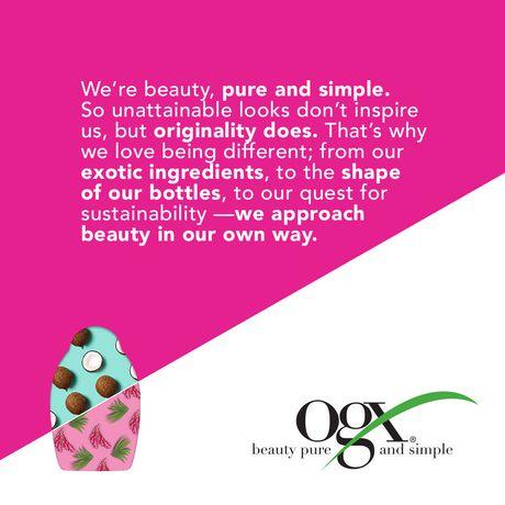 OGX Nourishing + Coconut Milk Shampoo - image 5 of 5