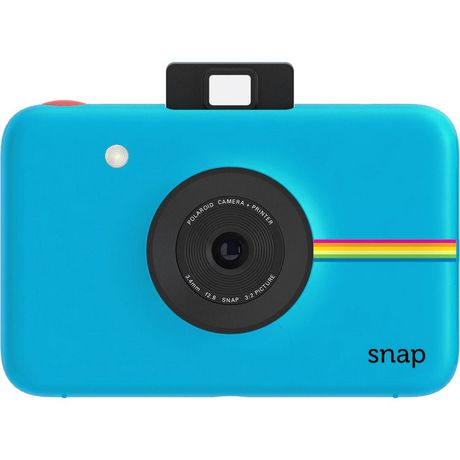 Polaroid Snap Instant Digital Camera, Blue Blue