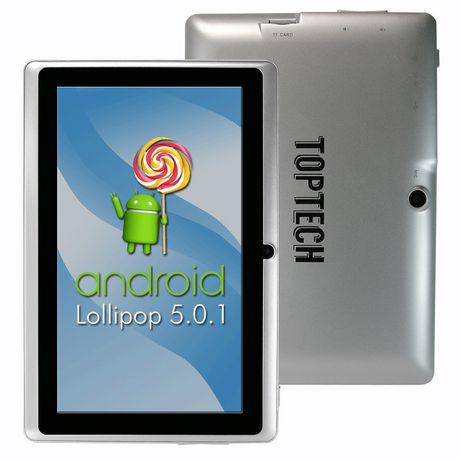Tablette Android de Top Tech Audio (MC) - Mauve - image 1 de 1