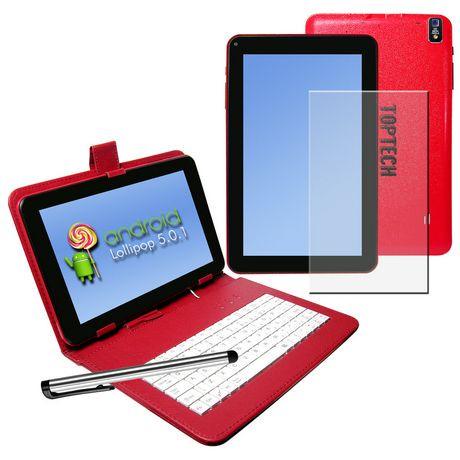 tablette pc android top tech audio de 9 po bleu walmart canada. Black Bedroom Furniture Sets. Home Design Ideas