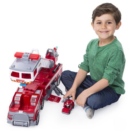 PAW Patrol - Ultimate Rescue Fire Truck with Extendable 2 Ft. Tall Ladder, for Ages 3 And up - image 6 of 9