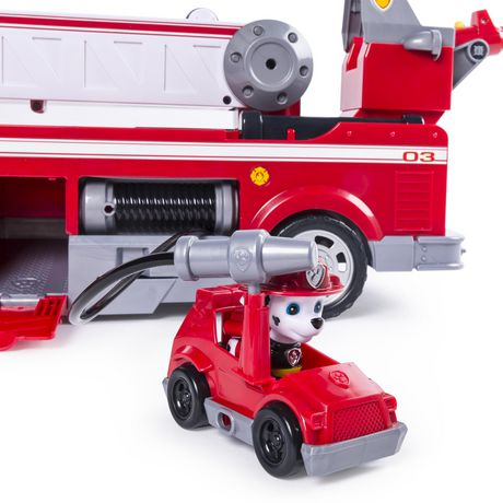 PAW Patrol - Ultimate Rescue Fire Truck with Extendable 2 Ft. Tall Ladder, for Ages 3 And up - image 7 of 9