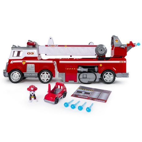PAW Patrol - Ultimate Rescue Fire Truck with Extendable 2 Ft. Tall Ladder, for Ages 3 And up - image 4 of 9