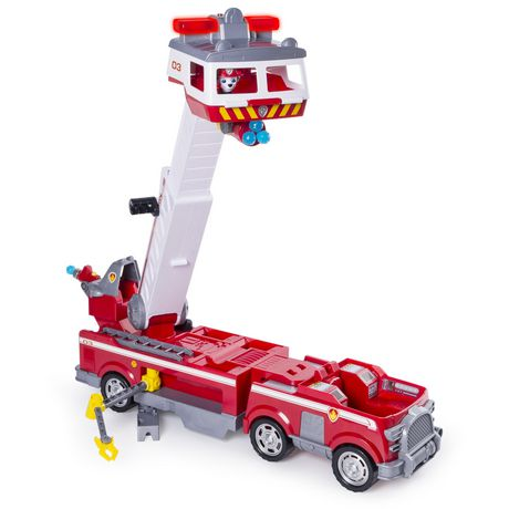 PAW Patrol - Ultimate Rescue Fire Truck with Extendable 2 Ft. Tall Ladder, for Ages 3 And up - image 5 of 9