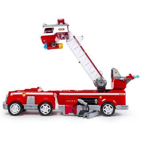 PAW Patrol - Ultimate Rescue Fire Truck with Extendable 2 Ft. Tall Ladder, for Ages 3 And up - image 3 of 9