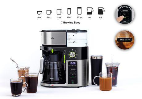 Braun MultiServe 12cup Drip Coffee Maker  KF9050 - image 3 of 6