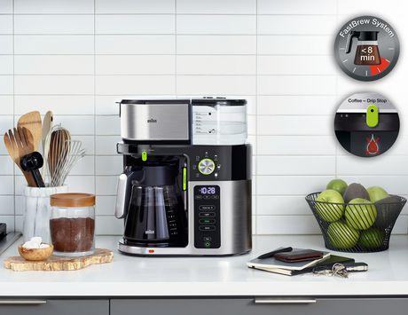 Braun MultiServe 12cup Drip Coffee Maker  KF9050 - image 4 of 6