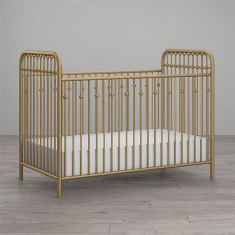 Lit de bébé Monarch Hill en métal, or - image 2 de 8