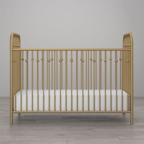 Lit de bébé Monarch Hill en métal, or - image 3 de 8