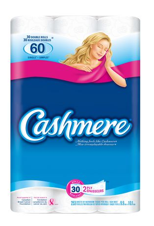 Cashmere Double Roll Bathroom Tissue - image 1 of 3