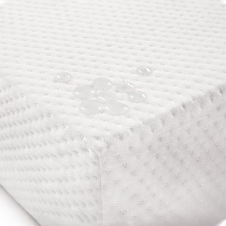 Graco Deluxe Foam Crib and Toddler Mattress (White) – Ships Compressed in Lightweight Box, Ideal Mattress Firmness, Featuring Soft, Water-Resistant, Removable, Hand-Washable Outer Cover - image 3 of 8