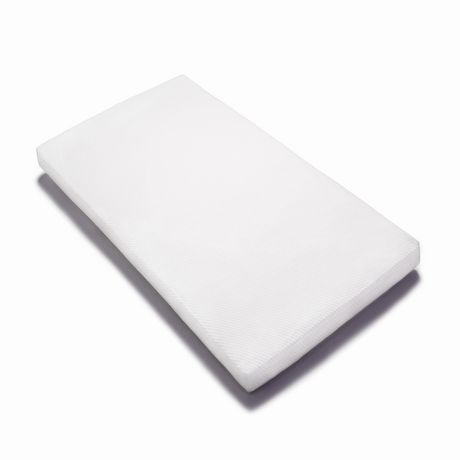 Graco Deluxe Foam Crib and Toddler Mattress (White) – Ships Compressed in Lightweight Box, Ideal Mattress Firmness, Featuring Soft, Water-Resistant, Removable, Hand-Washable Outer Cover - image 4 of 8