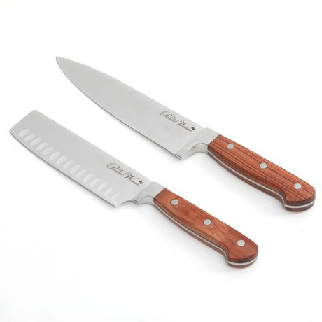 the pioneer woman cowboy rustic 8 chef 39 s knife and 6 signature knife. Black Bedroom Furniture Sets. Home Design Ideas