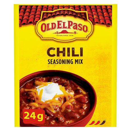 Old El Paso Chili Seasoning Mix - image 1 of 6