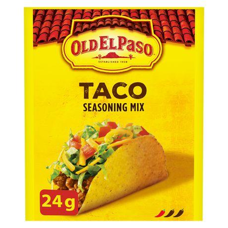 Old El Paso Taco Seasoning Mix - image 1 of 7