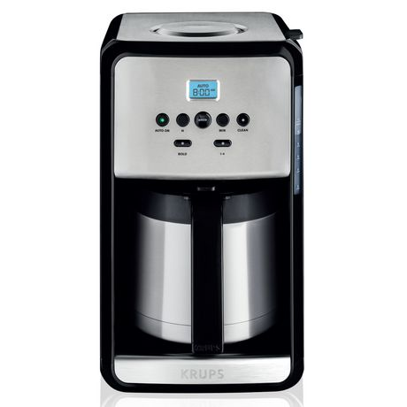 Krups Savoy Programmable Stainless Steel Thermal Coffee Maker