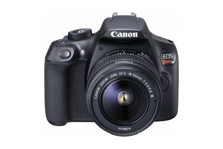 Canon EOS Rebel T6 DSLR Camera EF-S 18-55mm f/2.5-5.6 DC III Lens Kit - image 1 of 7